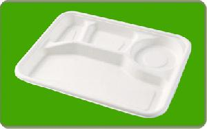 cafeteria food tray