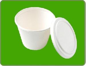 sugarcane bowl lid