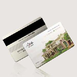 plastic magnetic card