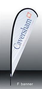 f banner flying