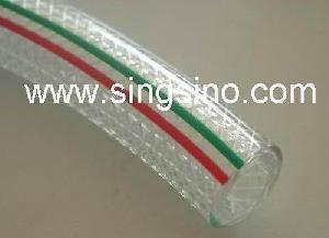 pvc clear braided hose