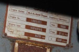 man 14v40 45 hfo generator