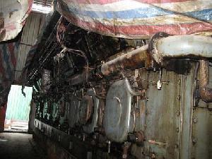 man 16v40 45 diesel generator