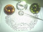 cubic zirconia cz round diamond