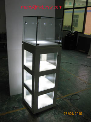power led jewelry showcases