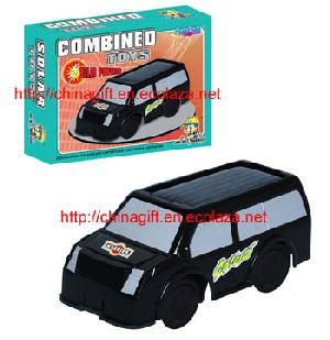 solar combined toy car