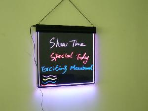 7 acrylic led writing board