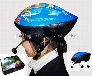 bluetooth biker helmet headset miss jona zhu line