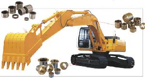 construction machine bushing flange bearing bush track roller bearings carrier bushings