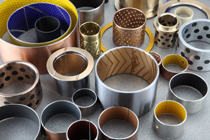 ptfe shaft bush graphite slide plates dry journal bearings bearing bushing