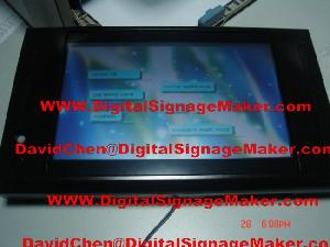 touch panel lcd digital signge screen player advertising