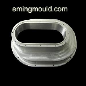 les parties en aluminium