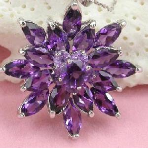 sterling silver amethyst pendant beacelet olivine ring citrine earring jewel