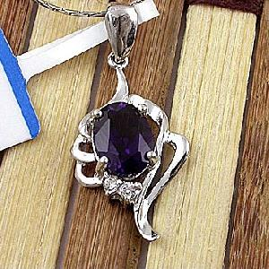 sterling silver amethyst pendant beacelet olivine ring tourmaline earring