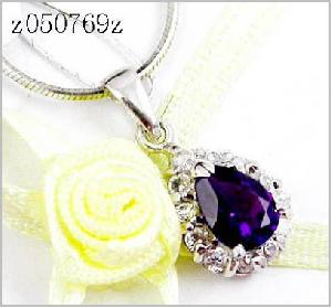 sterling silver amethyst pendant citrine beacelet olivine ring smoky quartz earring