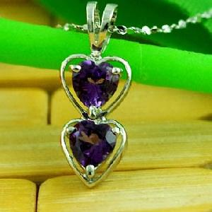 sterling silver amethyst pendant olivine ring citrine sapphire earring jewe