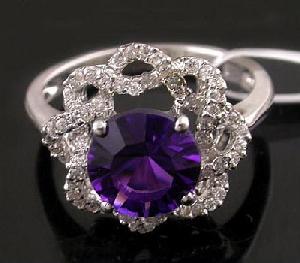 sterling silver amethyst ring jewelry ruby earring blue topaz pendant neckla