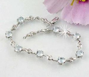 sterling silver blue topaz beacelet garnet pendant tourmaline earring olivine pendan