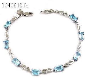 sterling silver blue topaz bracelet citrine pendant olivine ring chalcedony earring