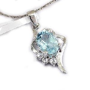 sterling silver blue topaz pendant moonstone earring fashion jewelry cz jewel