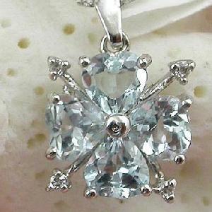 sterling silver blue topaz pendant sapphire ring moonstone earring bracelet garnet