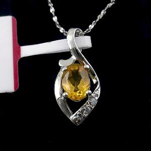 sterling silver citrine pendant blue topaz earring bracelet smoky quartz jadeite r