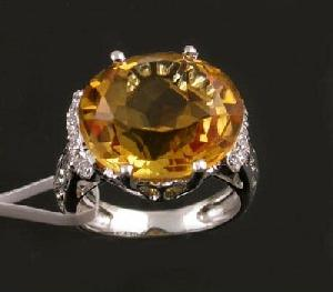 sterling silver citrine ring sapphire beacelet moonstone pendant tourmaline earring