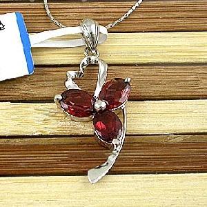 sterling silver garnet pendant blue topaz ring olivine bracelet prehnite earring