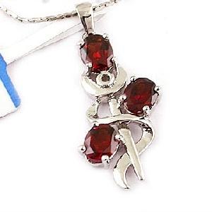 sterling silver garnet pendant citrine earring smoky quartz ring amethyst bracelet