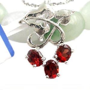 sterling silver garnet pendant citrine olivine ring amethyst earring bracel