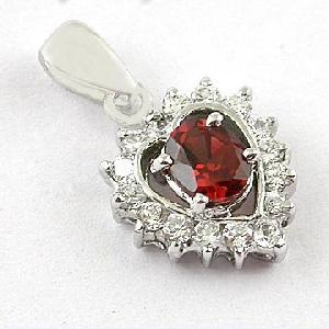 sterling silver garnet pendant bracelet tourmaline earring amethyst ring