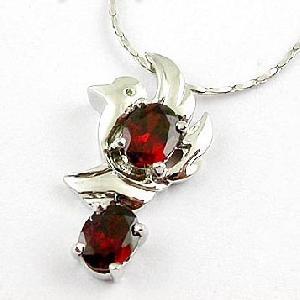 sterling silver garnet pendant olivine earring blue topaz ring