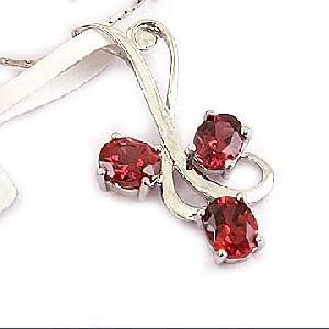 sterling silver garnet pendant olivine ring citrine bracelet amethyst earring
