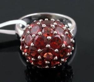 sterling silver garnet ring moonstone pendant jewelry olivine bracelet