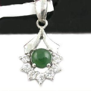 sterling silver jadeite pendant beacelet olivine ring citrine earring jewelr
