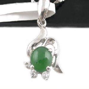 sterling silver jadeite pendant prehnite ring moonstone gem stone jewelry