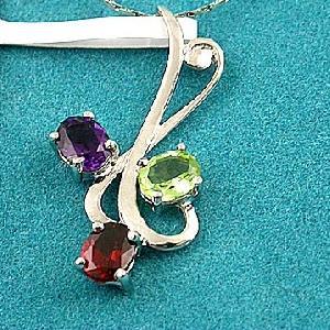 sterling silver mix gem pendant gemstone jewelry olivine ring citrine earring