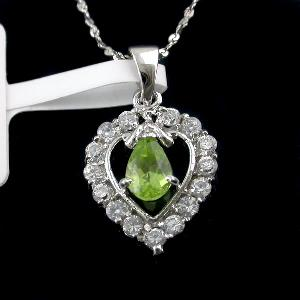 sterling silver olivine pendant blue topaz ring amethyst earring bracelet garnet ri