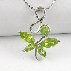 sterling silver olivine pendant jewelry ring citrine earring