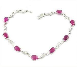 sterling silver ruby bracelet sapphire earring jewelry beacelet olivine ring