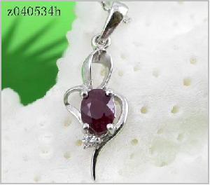 sterling silver ruby pendant sapphire beacelet citrine olivine earring