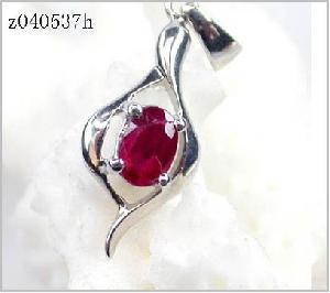 sterling silver ruby pendant sapphire earring moonstone ring amethyst