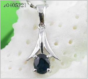 sterling silver sapphire pendant amethyst bracelet tourmaline earring blue topaz rin