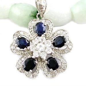 sterling silver sapphire pendant tourmaline earring blue topaz ring moonstone bracel