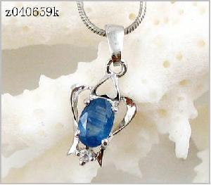 sterling silver sri lanka sapphire pendant olivine ring citrine earring jewel