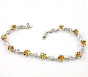 sterling silver topaz bracelet sapphire beacelet olivine ring earring jewelr