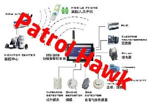 gsm telemetry systems supplier patrol hawk security