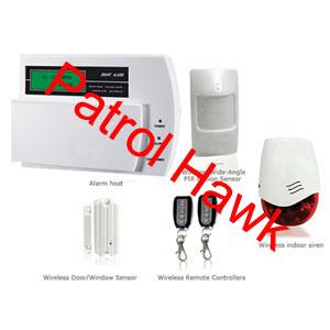 gsm wireless alarm system dvr