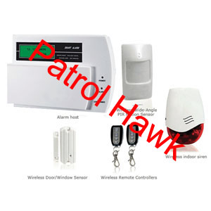 gsm wirelesss wied alarm kits home shop house warehouse