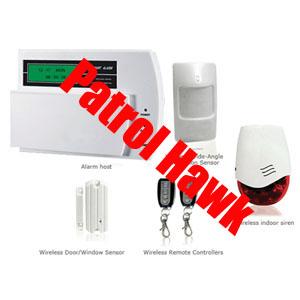 home alarm system landline